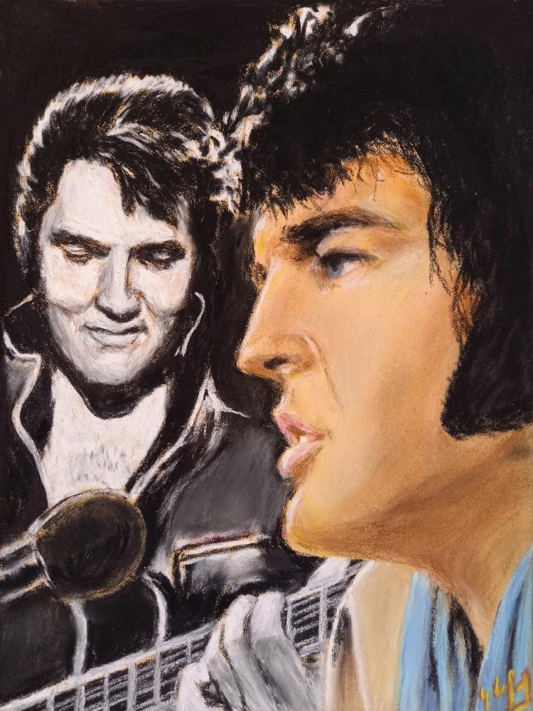 Elvis Presley by lpc
